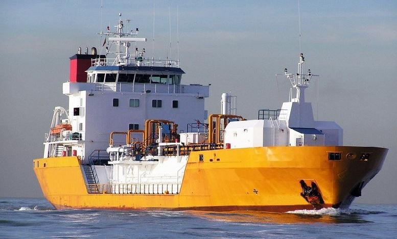 Pressurized LPG Ship